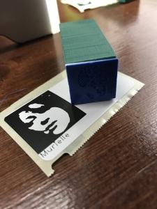tampon 3D personnalisé