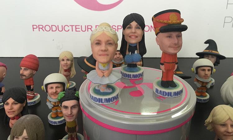 mini-figurine 3D