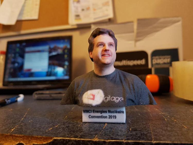 buste 3D impression 3D